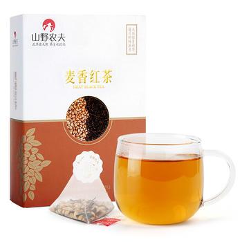 山野农夫 麦香红茶袋泡茶 盒装80g