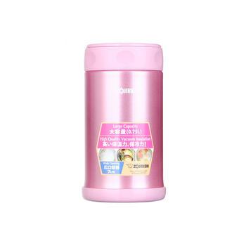 象印焖烧杯FCE75不锈钢学生粥桶饭盒-粉750ml-PS