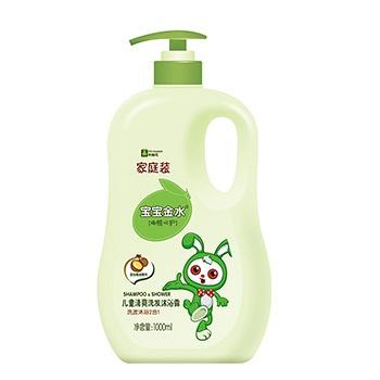 中国•宝宝金水倍润洗发沐浴露