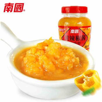 南国黄灯笼辣椒酱135g香辣特辣型