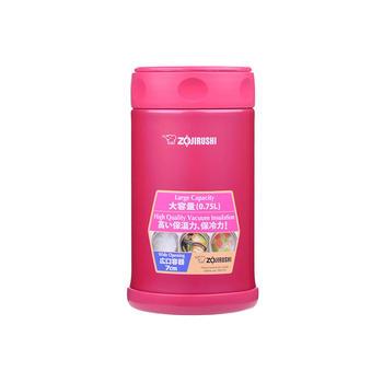 象印焖烧杯FCE75不锈钢学生粥桶饭盒-红750ml-PJ