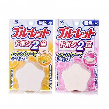 日本•小林制药 洁厕灵2件装(皂香120g+西柚120g)