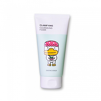 韩国•菲诗小铺(The face shop)每日草本樱桃泡沫洁面膏150g(KAKAO FRIENDS 限量版)