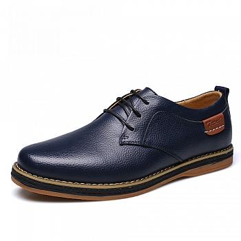 中国•承发男士系带休闲鞋 22977蓝色