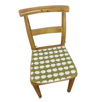 oasso 田园风棉麻凉席两用垫-2只装