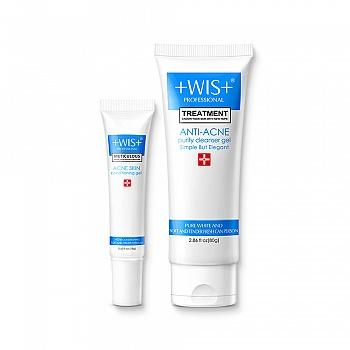 中国•WIS淡印洁面护肤套组