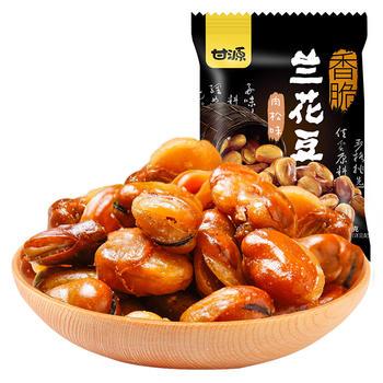 甘源牌 肉松味兰花豆休闲炒货零食 285g