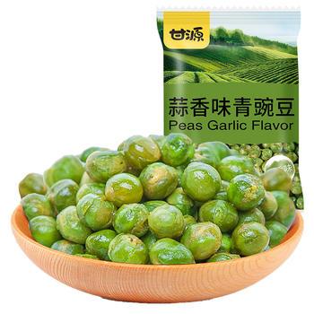 甘源牌蒜香味青豆628g 坚果零食