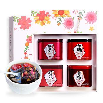 四月茶侬 4罐装姜茶礼盒800g