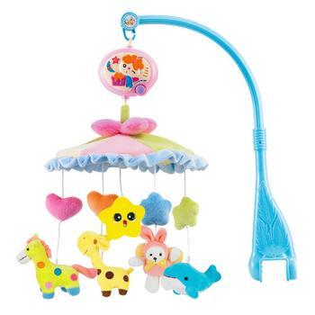 中国•奥贝比婴儿玩具布艺床头铃玩具