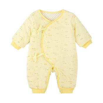 中国•宝然男女宝宝绑带棉袄连身衣服