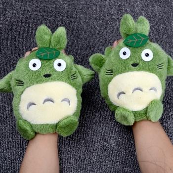 中国•冬季保暖可爱龙猫手套1双