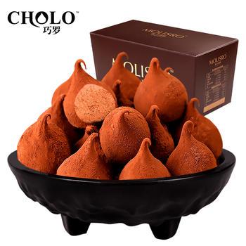 巧罗纯可可脂黑松露巧克力礼盒