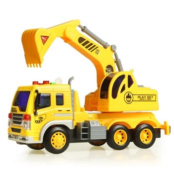中国•奥智嘉1:16智能工程挖掘机玩具