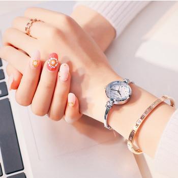 聚利时钢带时尚简约腕表女士手表