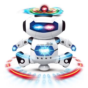 奥贝比360度旋转智能机器人