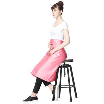 婧麒防辐射服孕妇银纤维盖毯粉色