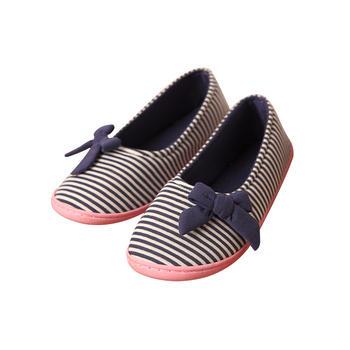 婧麒产前产后防滑月子鞋经典条纹