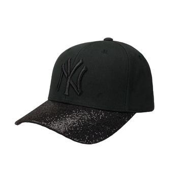 MLB美职棒时尚百搭亮片可调节棒球帽