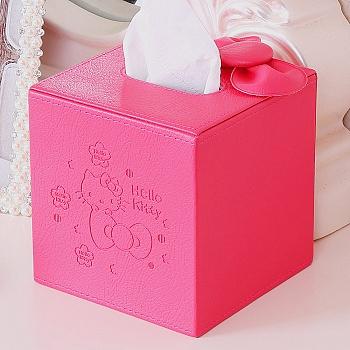 HELLO KITTY小号方形纸巾盒