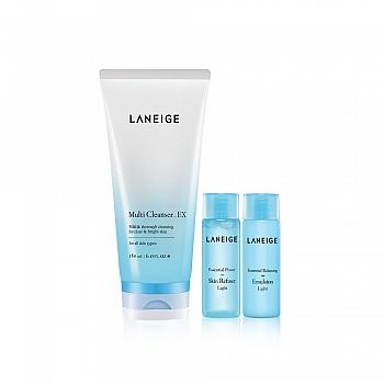 韩国•兰芝(LANEIGE)多效净肤洁颜膏  3件套组