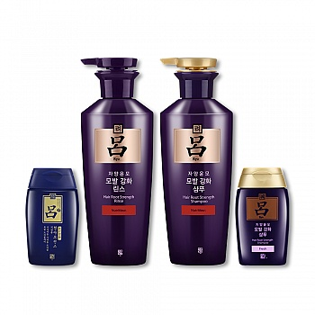 韩国•吕滋养韧发密集莹韧洗护 4件套组
