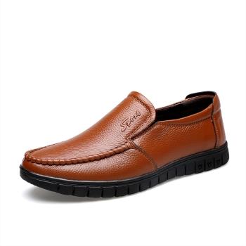 中国•承发休闲皮鞋男鞋   36274黄棕色
