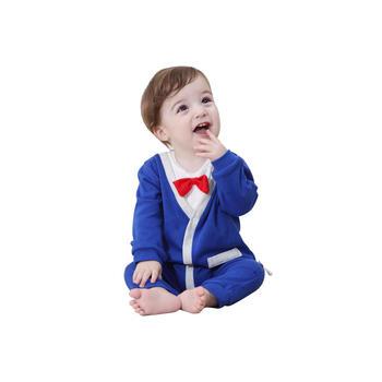 Cipango婴儿可爱绅士连体外出衣服