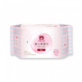 中国•红色小象婴儿柔湿巾(无盖)80p