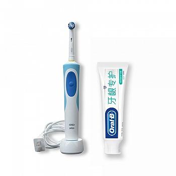 德国•欧乐B(Oral-B)D12013清亮型电动牙刷(新)+欧乐B牙龈专护牙膏(持续牙龈修护+清新)140g