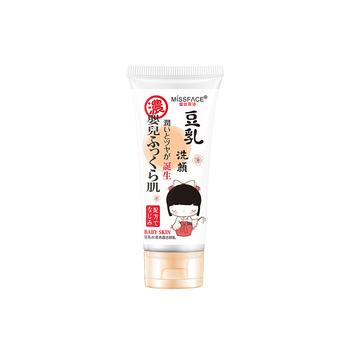 中国•MISSFACE豆乳水漾清透洁颜乳100g