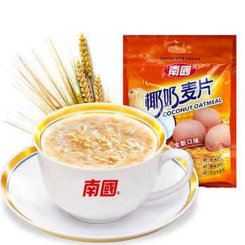 [领券99减49]南国椰奶麦片560g 即食免煮麦片