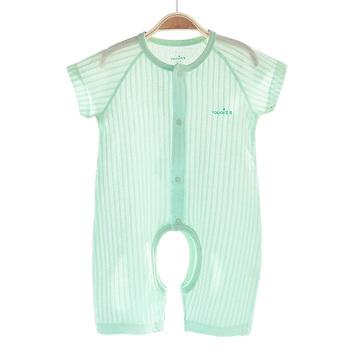 中国•优奇 婴儿短袖连体衣爬服
