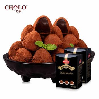 巧罗黑松露形巧克力8口味礼盒