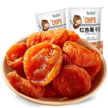 【憨豆熊】 红杏干100g*1  蜜饯