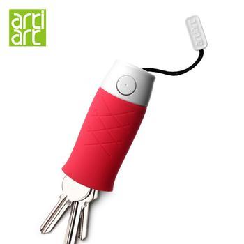 台湾Artiart小鱼抽拉式硅胶钥匙包