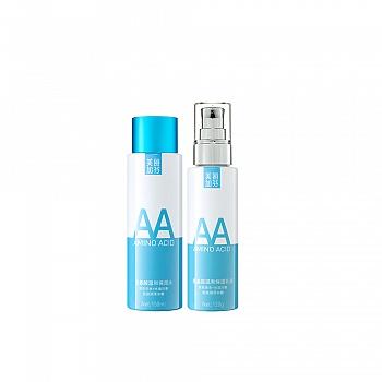 中国•美丽加芬氨基酸保湿水乳两件套(氨基酸温和保湿水150ml+氨基酸温和保湿乳液120g)