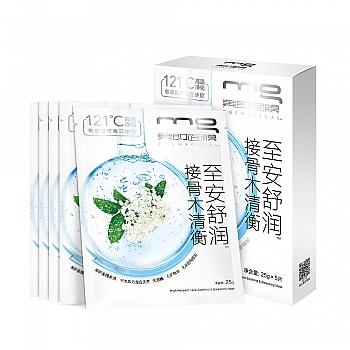 中国•MG美即至安舒润接骨木清衡面膜5片(油性敏感肌适用)