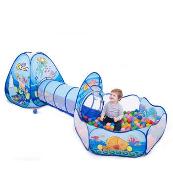 欧培儿童帐篷超大房子游戏屋隧道