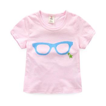 贝壳家族夏季女童童装卡通短袖T恤tx3275