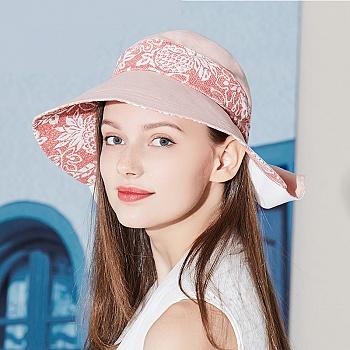 中国•卡蒙棉麻大檐帽可折叠3454