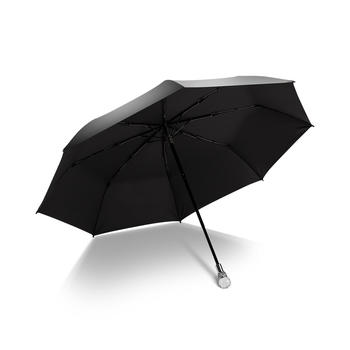 德国iRain水晶防紫外线黑胶太阳伞
