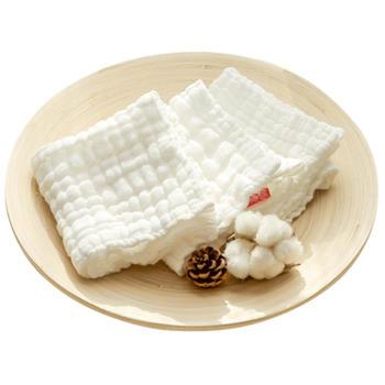 慕斯维 婴儿口水巾毛巾  两条装