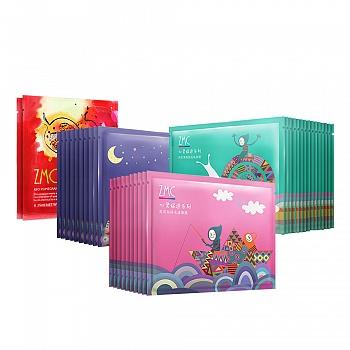 中国•植美村(ZMC)心灵旅途系列面膜礼盒(35片装)赠面膜贴2片