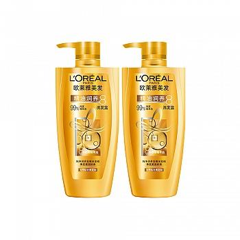 法国•欧莱雅 (L'Oreal)精油润养洗发露500ml 2支