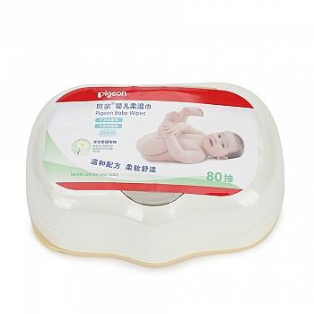 日本•贝亲婴儿柔湿巾80抽KA35