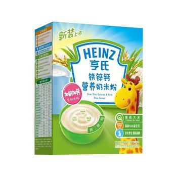 亨氏铁锌钙营养奶米粉225g