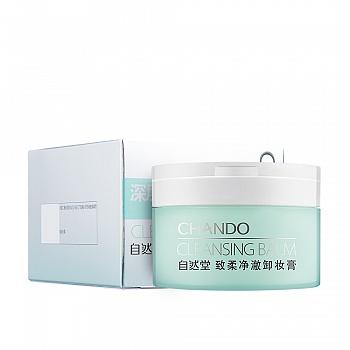 中国•自然堂(CHANDO)致柔净澈卸妆膏 80g
