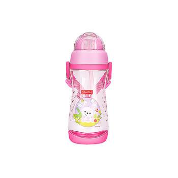 费雪儿童便携吸管水杯粉红色