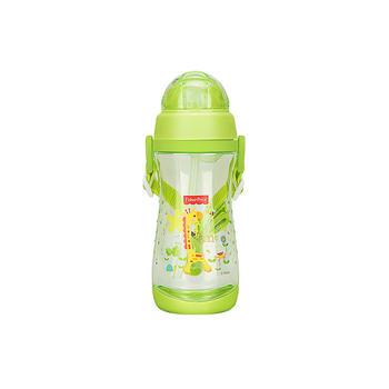 费雪儿童便携吸管水杯绿色